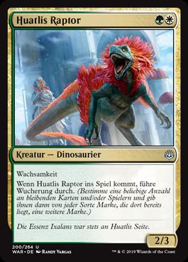 Huatlis Raptor