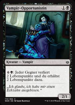 Vampir-Opportunistin