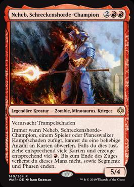 Neheb, Schreckenshorde-Champion