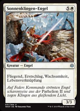 Sonnenklingen-Engel