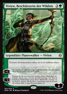 Vivien, Beschützerin der Wildnis
