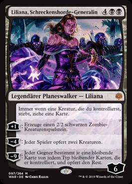 Liliana, Schreckenshorde-Generalin
