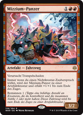 Mizzium-Panzer