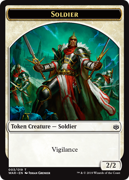 The Tokens of War of the Spark   MAGIC: THE GATHERING