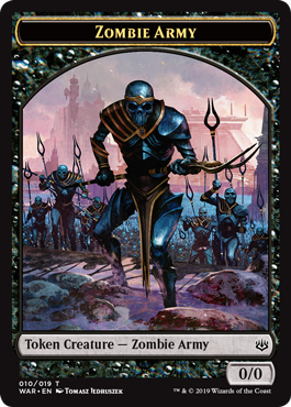 Zombie Army Token 3