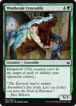 Wardscale Crocodile
