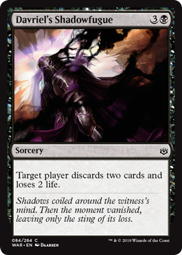 Davriel's Shadowfugue
