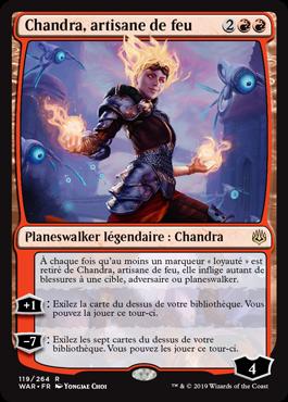 Chandra, artisane de feu
