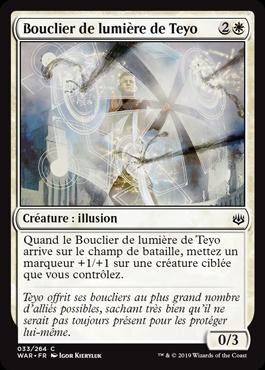 Bouclier de lumière de Teyo