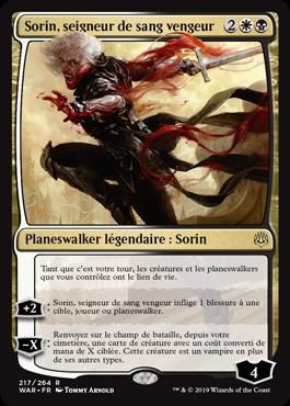 Sorin, seigneur de sang vengeur