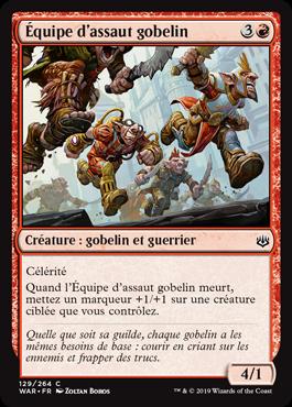 Équipe d'assaut gobelin