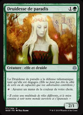 Druidesse de paradis