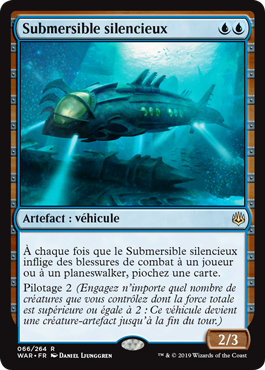 Submersible silencieux