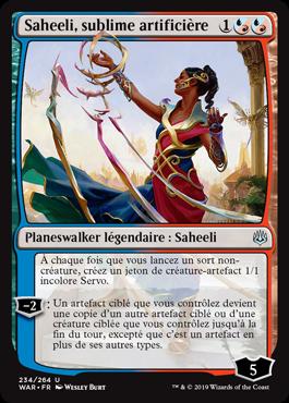 Saheeli, sublime artificière