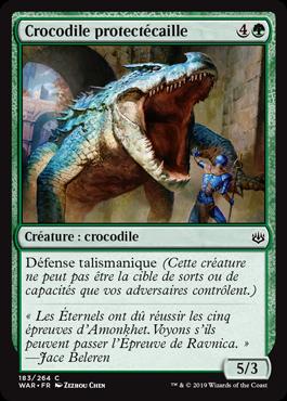 Crocodile protectécaille