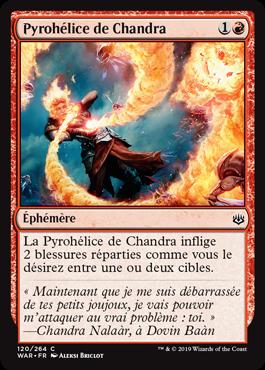Pyrohélice de Chandra