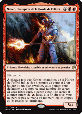 Neheb, champion de la Horde de l'effroi