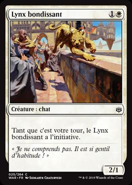 Lynx bondissant