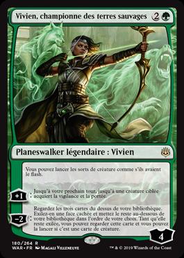 Vivien, championne des terres sauvages