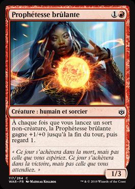 Prophétesse brûlante