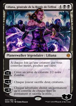 Liliana, générale de la Horde de l'effroi