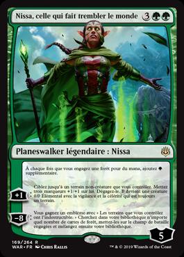 Nissa, celle qui fait trembler le monde