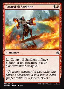 Sarkhan's Catharsis
