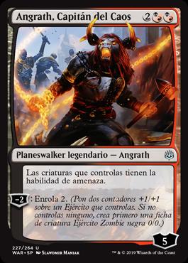 Angrath, Capitán del Caos