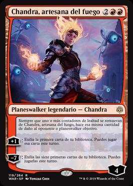Chandra, artesana del fuego
