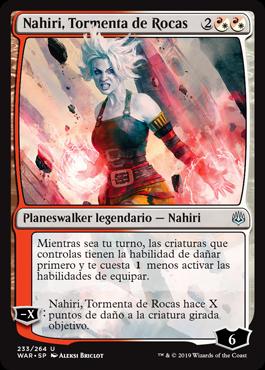 Nahiri, Tormenta de Rocas