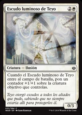 Escudo luminoso de Teyo
