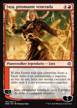 Jaya, piromante venerada