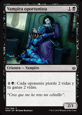 Vampira oportunista