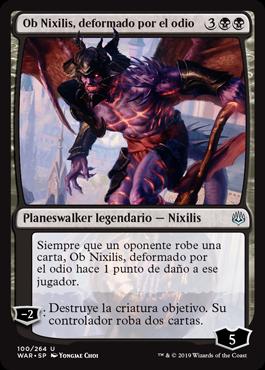 Ob Nixilis, deformado por el odio
