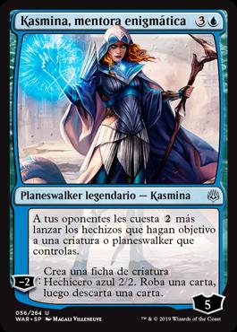 Kasmina, mentora enigmática