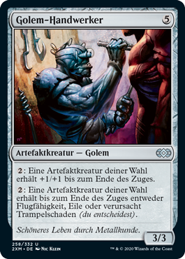 Golem-Handwerker