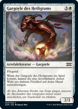 Gargoyle des Heiligtums