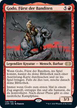 Godo, Fürst der Banditen