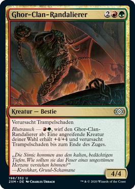 Ghor-Clan-Randalierer
