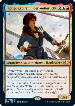 Jhoira, Kapitänin der Wetterlicht