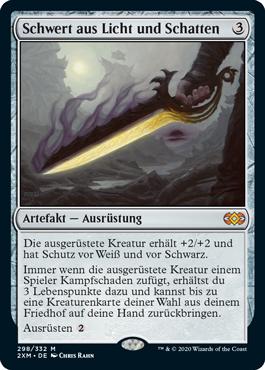 Schwert aus Licht und Schatten