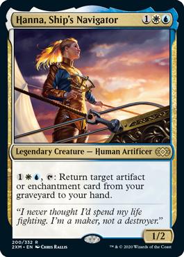 Hanna, Ship's Navigator