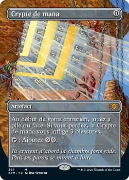 Crypte de mana