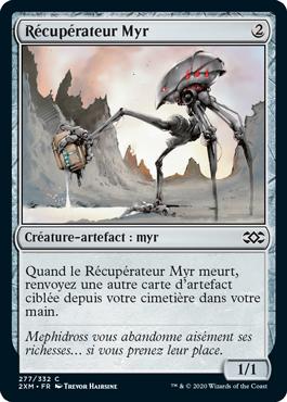 Récupérateur Myr