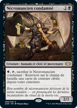 Nécromancien condamné