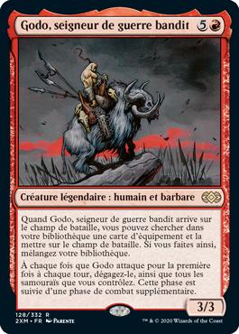 Godo, seigneur de guerre bandit