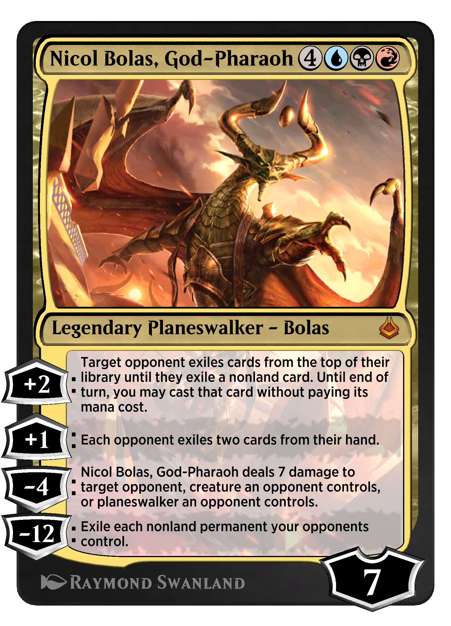 Nicol Bolas, God-Pharaoh