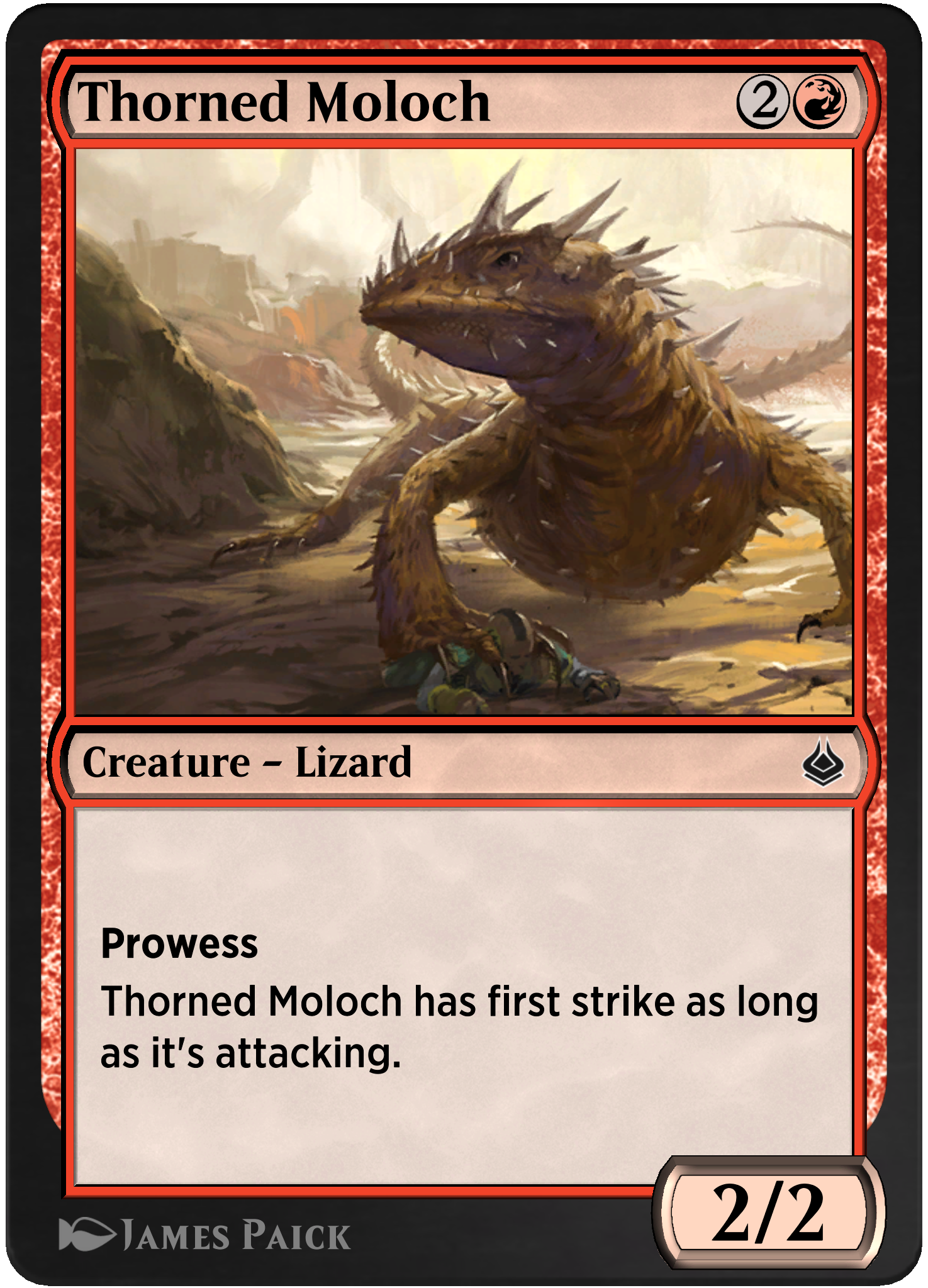 Thorned Moloch