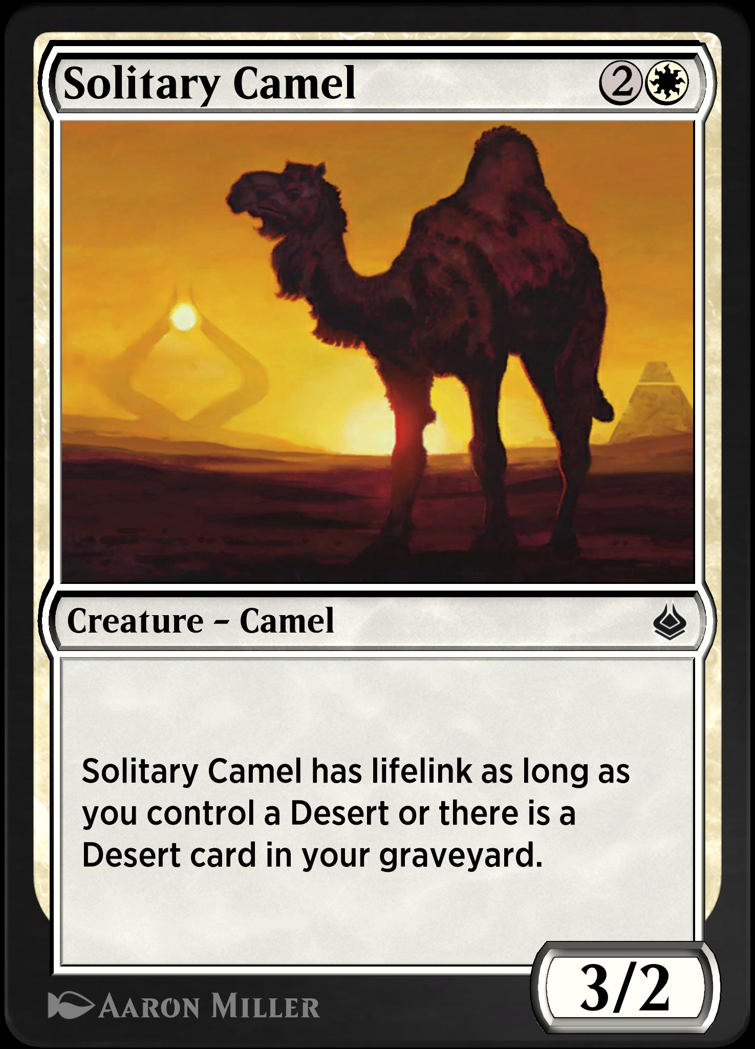 Solitary Camel