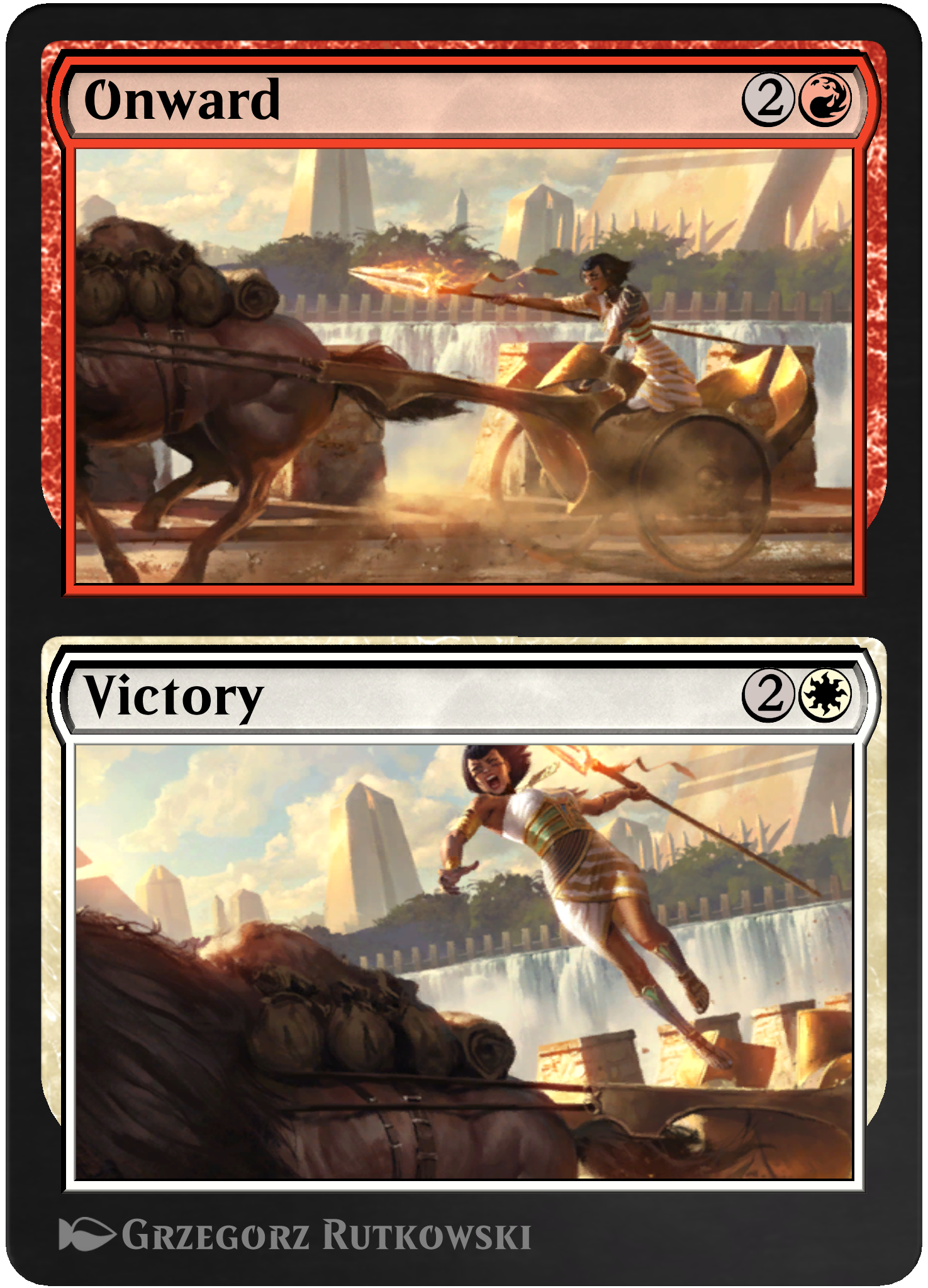 Onward // Victory